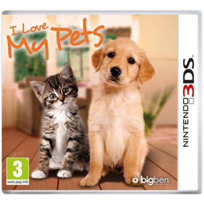 I Love My Pets Nintendo 3DS - Nintendo 3DS