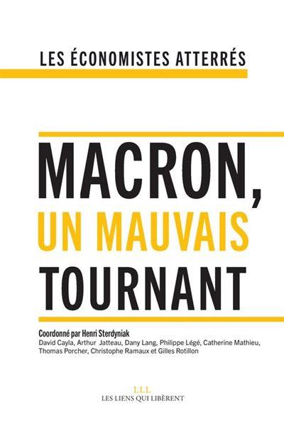 Macron, un mauvais tournant - 9791020905130 - 14,99 €