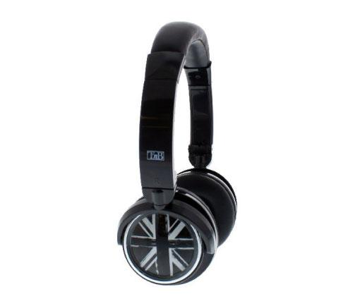 Casque Bluetooth T'nB London Noir - Casque