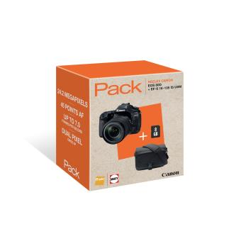 SLR Camera Canon EOS 80D + Fotolens EF-S 18-135 IS USM