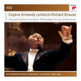 Box Set Eugene Ormandy Conducts Richard Strauss - 4 CDs