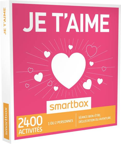 Coffret Cadeau Smartbox Je Taime