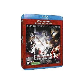Captain AmericaCaptain America : Civil War Blu-ray 3D + 2D