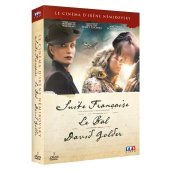 Coffret Irène Nemirovsky 3 films DVD