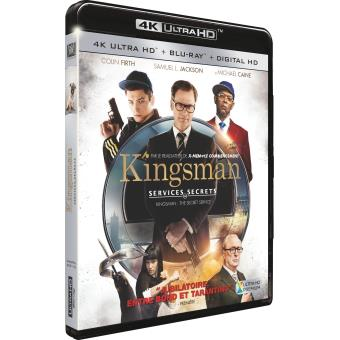Kingsman, services secretsKingsman : Services secrets Blu-ray 4K Ultra HD