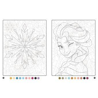 La Reine Des Neiges Coloriages Magiques Trompe L œil Collectif
