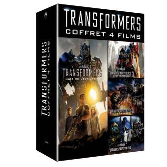 TransformersTransformers Coffret 4 films DVD