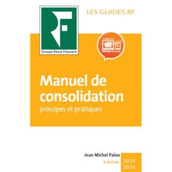 Manuel de consolidation