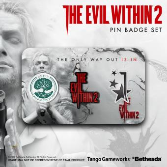 Set Pin Badge The Evil Within 2