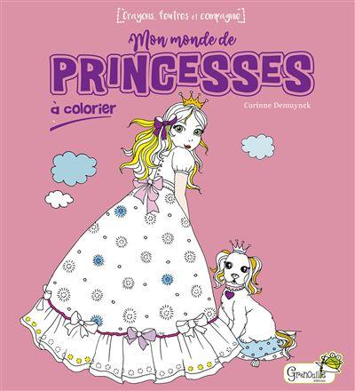 Mon monde de princesses à colorier