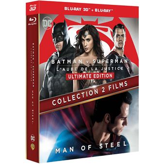 Batman V Superman - Man of steel Version Longue Ultimate Edition Blu-ray 3D + 2D