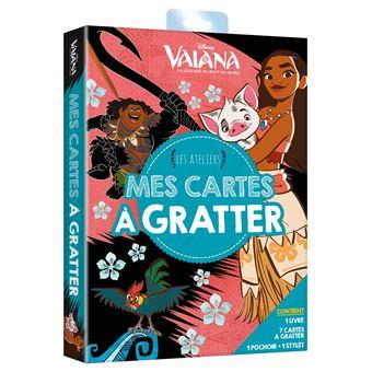 VaianaVAIANA - Les ateliers disney - Pochette - Mes cartes à gratter