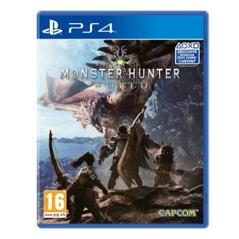 Monster hunter world  MIX PS4