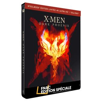 X-MenX-Men : Dark Phoenix Steelbook Edition Spéciale Fnac Blu-ray 4K Ultra HD