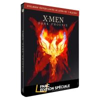 X-Men : Dark Phoenix Steelbook Edition Limitée Spéciale Fnac Blu-ray 4K Ultra HD