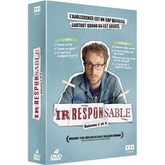 IrresponsableCoffret Irresponsable Saisons 1 et 2 DVD