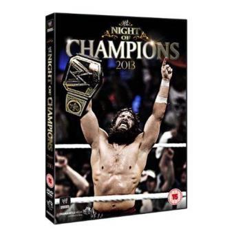 WWE Night of Champions 2013 DVD