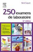 250 examens de laboratoire