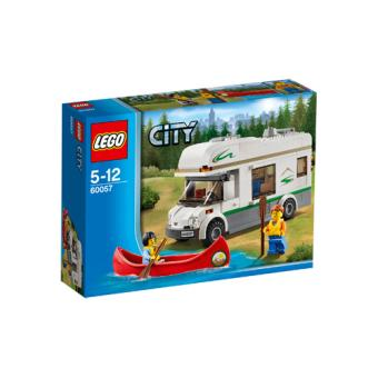 lego city 60057 le camping car et son cano lego achat prix fnac. Black Bedroom Furniture Sets. Home Design Ideas