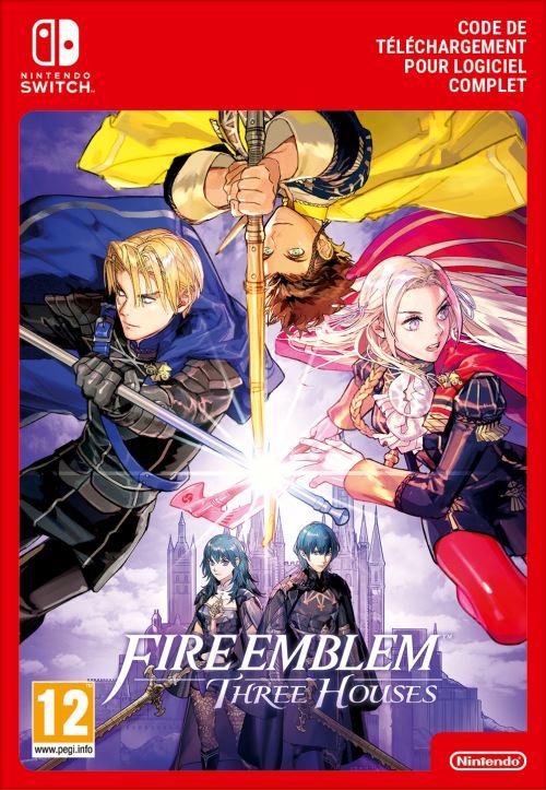 Code de téléchargement Fire Emblem Three Houses Nintendo Switch