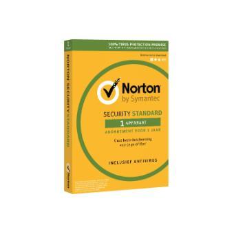 Norton Security 3.0 Standard 1 jaar voor 1 apparaat
