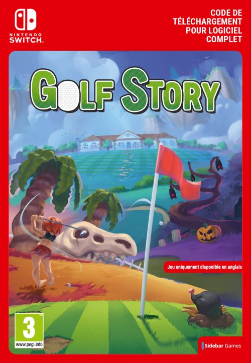 Code de téléchargement Golf Story Nintendo Switch