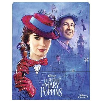Mary PoppinsLe retour de Mary Poppins Blu-ray