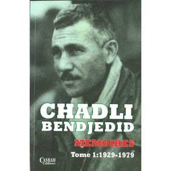 memoires chadli bendjedid pdf