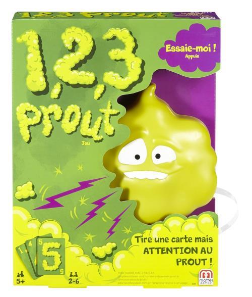 1 2 3 Prout Mattel Games