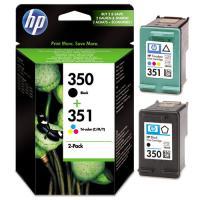 Cartouche HP Bi-Pack 350/351 (SD412EE)