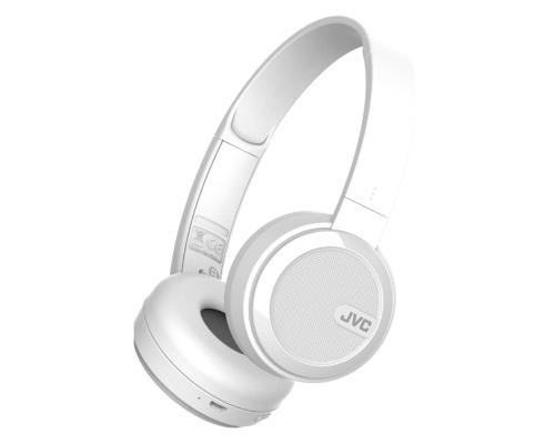 Casque sans fil JVC Bluetooth Pliable Blanc