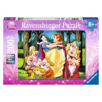 Sneeuwwitje en haar prins puzzel - 200 stukjes