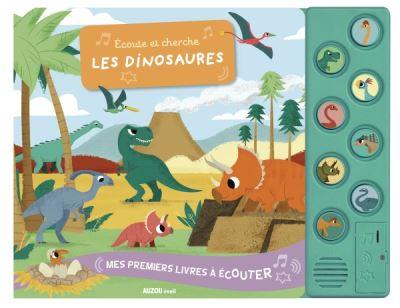Écoute et cherche les dinosaures