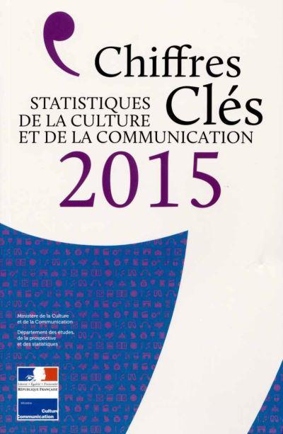 Chiffres clés de la culture et de la communication 2015