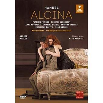 Alcina Festival d'Aix-en-Provence 2015 DVD