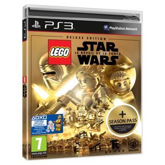 lego star wars le r veil de la force deluxe edition ps3 jeux vid o achat prix fnac. Black Bedroom Furniture Sets. Home Design Ideas