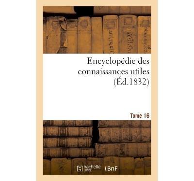 Encyclopédie des connaissances utiles