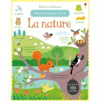 La nature - Mon premier livre avec autocollants
