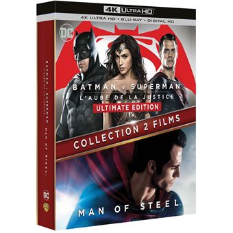 Batman vs. SupermanBatman V Superman - Man of steel Version Longue Ultimate Edition Blu-ray 4K