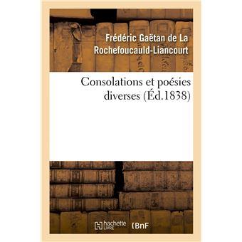 Consolations et poésies diverses