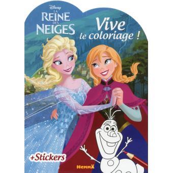 Coloriage Walt Disney Reine Des Neiges.La Reine Des Neiges Vive Le Coloriage Disney La Reine Des