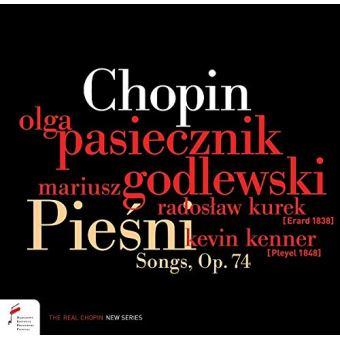 Piesni Songs Opus 74 Mélodies Polonaises Opus 74