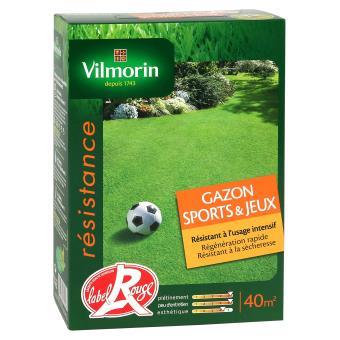 Gazon sport et jeux Vilmorin 1 kg