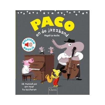 GeluidenboekjesPaco en de jazzband