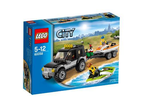 LEGO® City 60058 Le 4x4 de transport des jet-skis