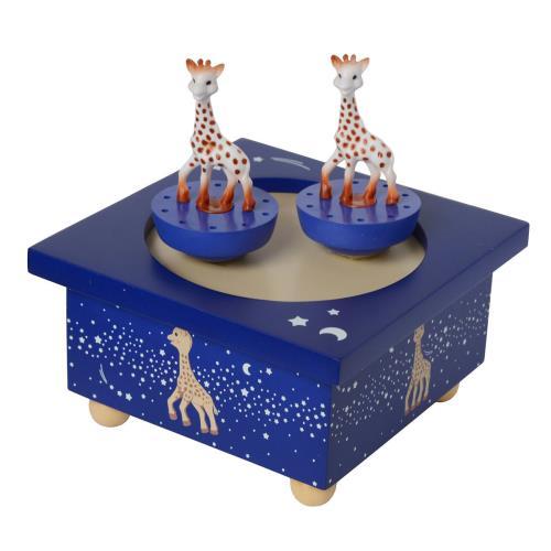 Boîte à Musique en Bois Sophie la Girafe