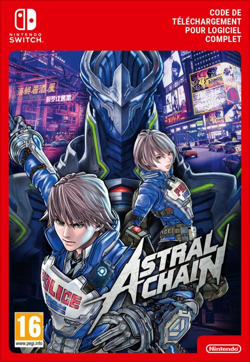 Code de téléchargement Astral Chain Nintendo Switch