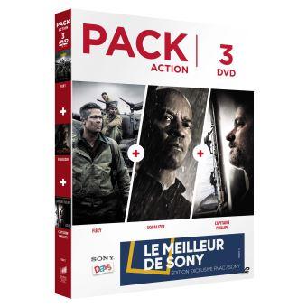 Coffret Action Exclusivité Fnac DVD