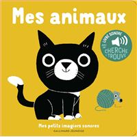 Mes animaux, Livre sonore