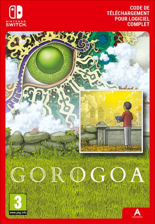 Code de téléchargement Gorogoa Nintendo Switch